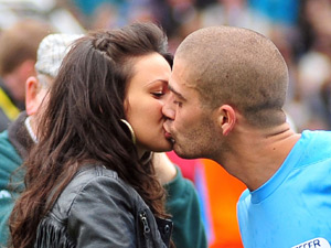 Michelle Keegan and Max George