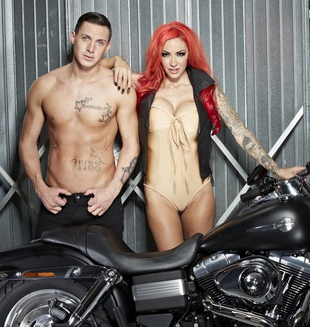 REVEAL ONLYJodie Marsh and Kirk Norcross Reveal photoshoot