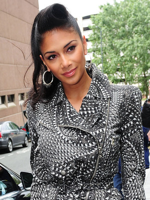 Nicole Scherzinger X Factor judges leaving their hotel to attend the boot camp stage of the competition Liverpool, England - 18.07.12 Mandatory Credit: WENN.com
