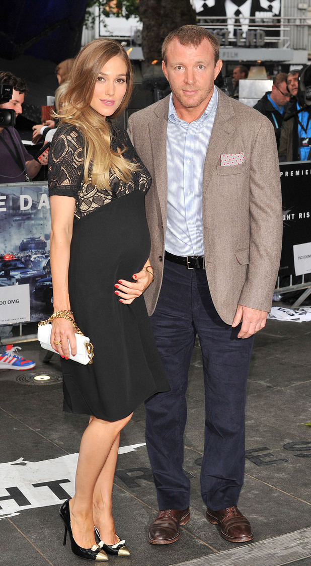 Guy Ritchie and Jacqui Ainsley The European Premiere of 'The Dark Knight Rises' held at the Odeon West End - Arrivals. London, England - 18.07.12 Mandatory Credit: WENN.com