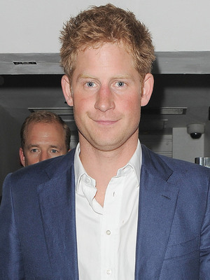 Prince Harry is all smiles, as he leaves The Salon nightclub in Mayfair at 4.10am, flanked by security. London, England - 19.07.12 Mandatory Credit: Will Alexander/WENN.com