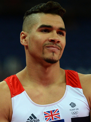 UK gymnast Louis Smith, London 2012