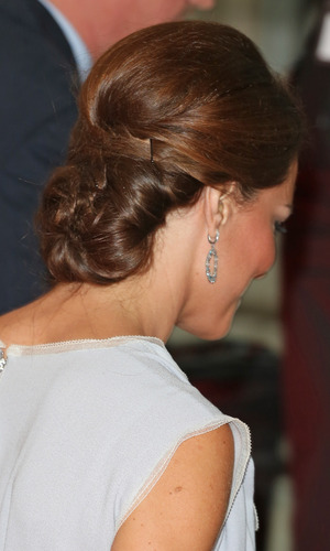 Miss Mode: Kate Middleton Up Do Back