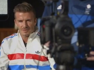 David Beckham in Adidas video