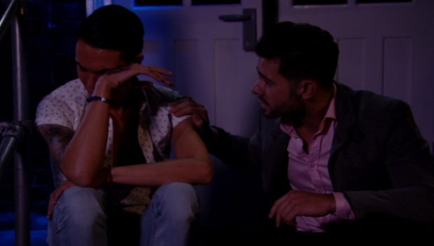 TOWIE: Bobby tells Charlie he's in love with him