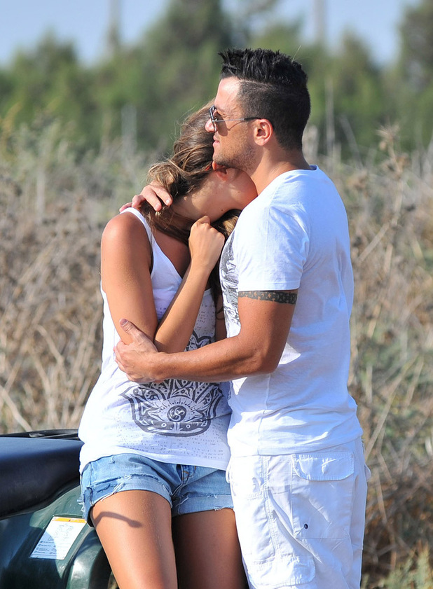Excluisve pictures of Peter Andre and new girlfriend Emily McDonaugh on holiday in CyprusREVEAL USE ONLY. 1ST UK RIGHTS.