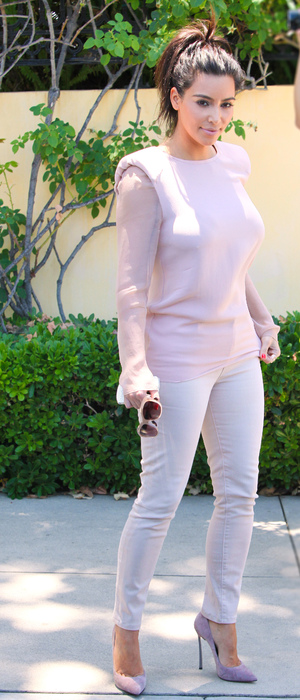 Miss Mode: kim kardashian pointed shoes