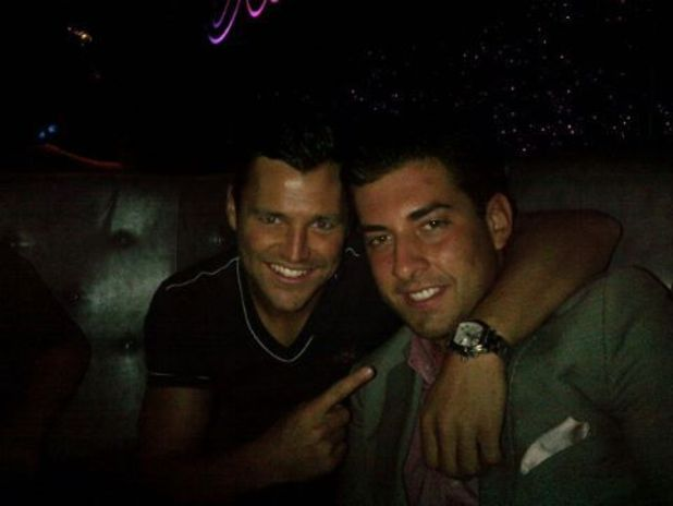Mark Wright and James 'Arg' Argent in Faces