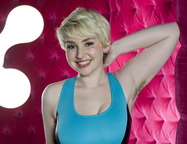 Holly-Rae Smith is proud of her hairy armpits
