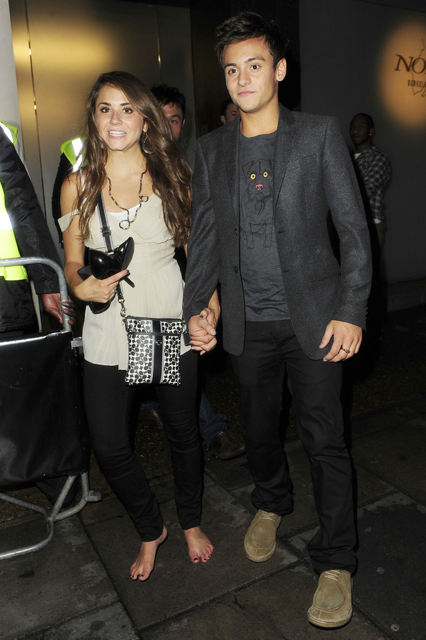 Diver Tom Daley And Girlfriend Kassidy Cook Pictured