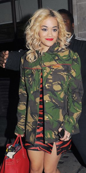 miss mode: rita ora camo