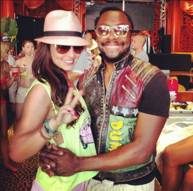 Cheryl Cole and will.i.am in Las Vegas for her birthday