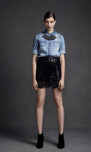 miss mode: primark a/w 12 denim shirt
