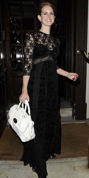 Lana Del Rey London Fashion Week 2012 Mulberry aftershow dinner. London, England - 19.02.12 Mandatory Credit: Stuart Castle / WENN.com