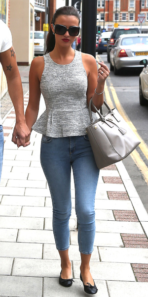 Miss mode: lucy mecklenburgh in topshop jeans 2