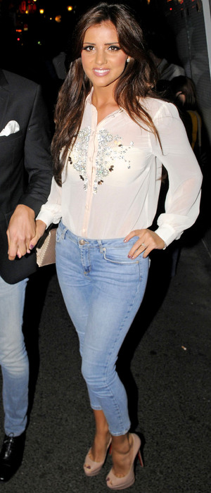miss mode: lucy meck in topshop jeans 4