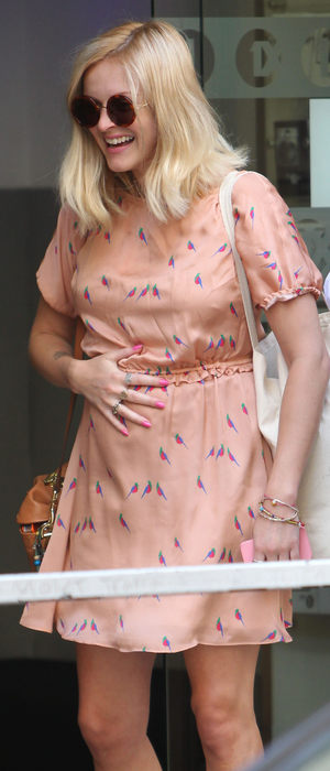 miss mode: fearne cotton bird dress