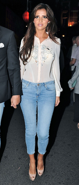 Miss Mode: Lucy mecklenburgh in topshop jeans 1