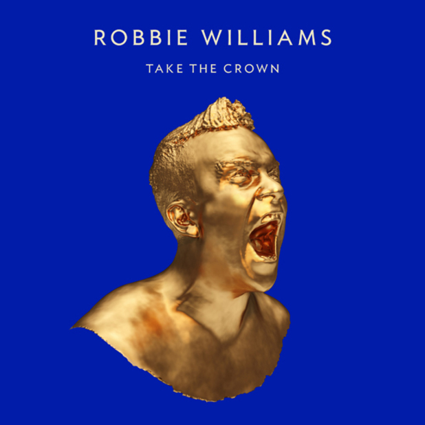 Robbie Williams 'Take the Crown' artwork (Standard edition)