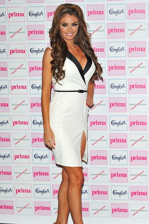 Chloe Simms, The Comfort Prima High Street Fashion Awards at Battersea Evolution Marquee - Arrivals. London, England. 13.09.12 Mandatory Credit: WENN.com
