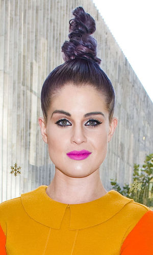 Kelly Osbourne, Chris Benz show, Spring/Summer, Mercedes-Benz Fashion Week, New York, America - 09 Sep 2012