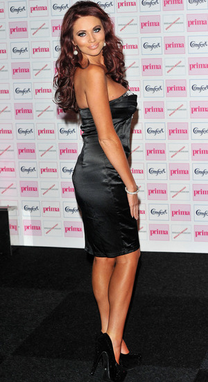 Amy Childs, The Comfort Prima High Street Fashion Awards at Battersea Evolution Marquee - Arrivals. London, England. 13.09.12 Mandatory Credit: WENN.com