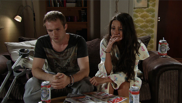 Corrie Tommy and Tina surrogacy drama, Fri 14 Sep