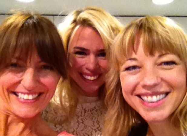 Davina McCall, Billie Piper, Sara Cox on Radio 1