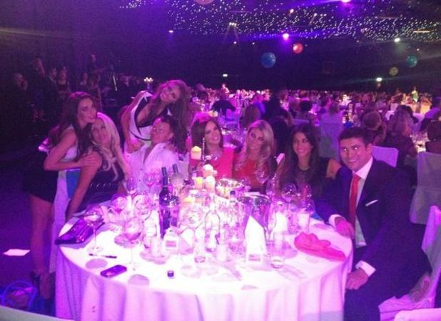 TOWIE cast at Prima High Street Fashion Awards. Maria Fowler, Billi Mucklow, Chloe Simms, Cara Kilbey