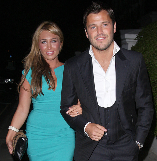Mark Wright and Lauren Goodger The ITV Summer Party held at a private residence in Notting Hill - Departures London, England - 06.07.11 Mandatory Credit: Spiller/WENN.com