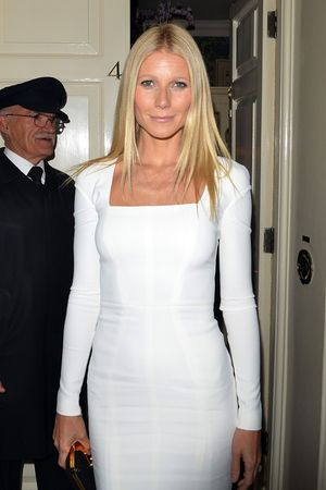 Gwyneth Paltrow at Obama Victory Fund 2012 dinner at Mark's club, London, Britain - 19 Sep 2012