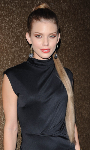 Annalynne McCord, Lloyd Klein 2013 Spring Collection Preview at Lure Hollywood, Los Angeles, America - 20 Sep 2012