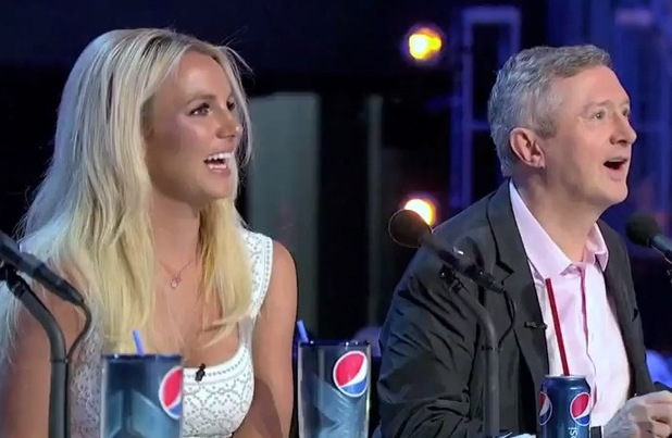 Louis Walsh, Britney Spears