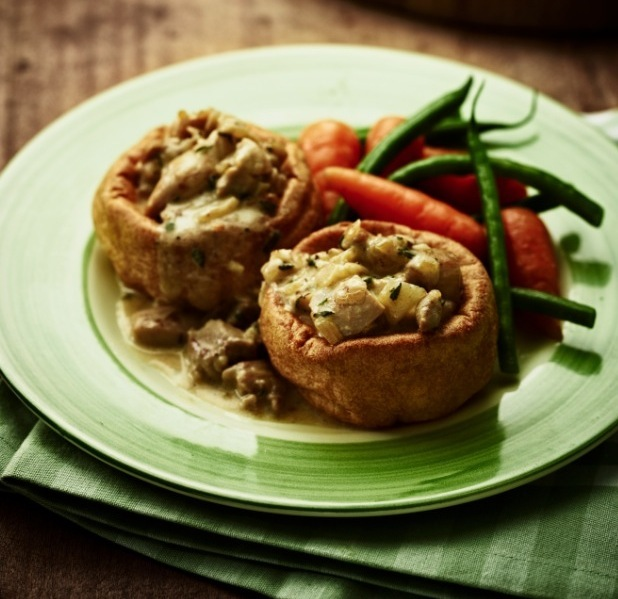 James Tanner recipe for Chicken and sage saut in mini Yorkshire puddings