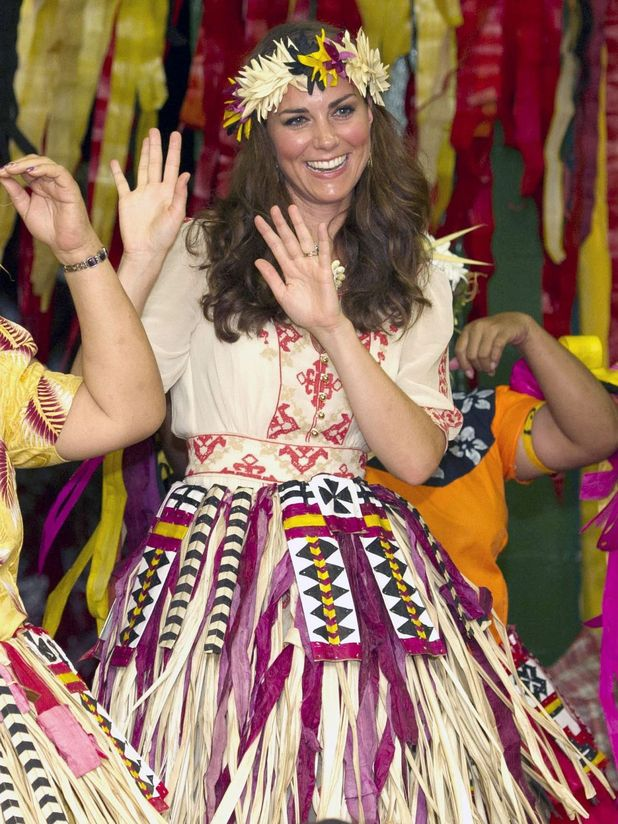 Kate Middleton in Tuvalu