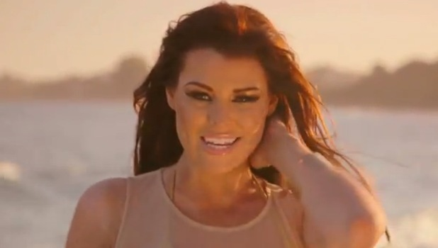 Jessica Wright in Dance All Night music video