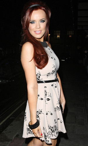 Maria Fowler outside the May Fair hotel London, England - 04.10.12 Mandatory Credit: Spiller/WENN.com