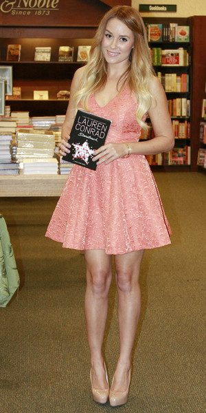 miss mode: lauren conrad pink dress