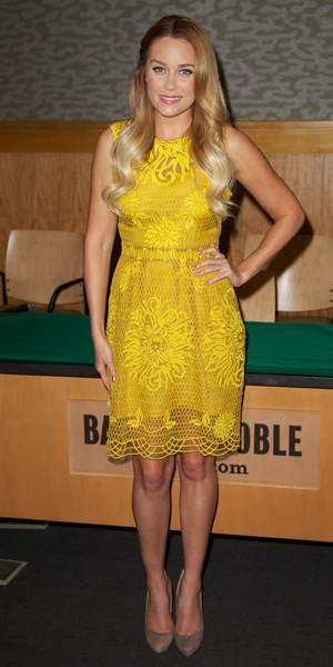miss mode: Lauren Conrad promotes her book 'Starstruck' at Barnes & Noble New York City, USA - 16.10.12 Credit: (Mandatory): Alberto Reyes/WENN.com