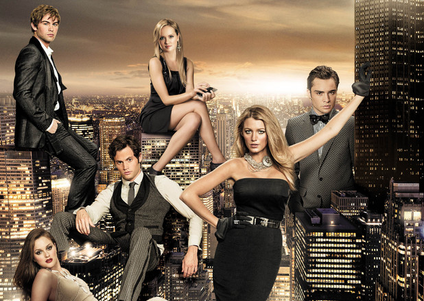 Gossip Girl, cast shot, series 6, Wed 17 Oct 2012