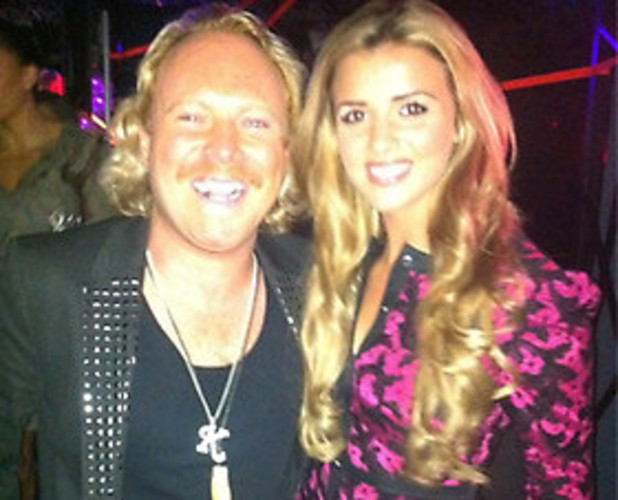 Lucy Mecklenburgh meets Keith Lemon at Fabulous High Street Fashion Awards