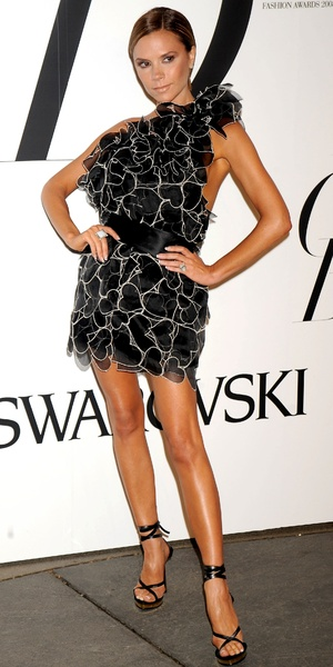 Victoria Beckham, CFDA Fashion Awards Sponsored by Swarovski, New York Public Library, New York, America - 02 Jun 2008
