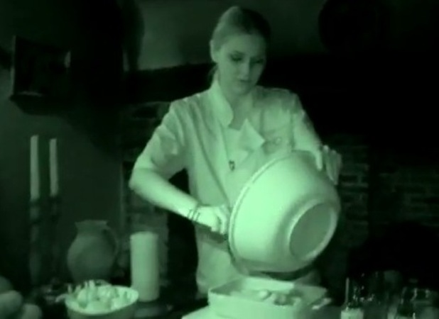 Zoe Salmon does Celebrity Frightened Chef