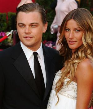 Leonardo DiCaprio and Gisele Erin Heatherton And Leonardo Dicaprio Split