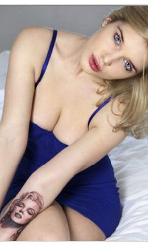 Helen Flanagan tattoo