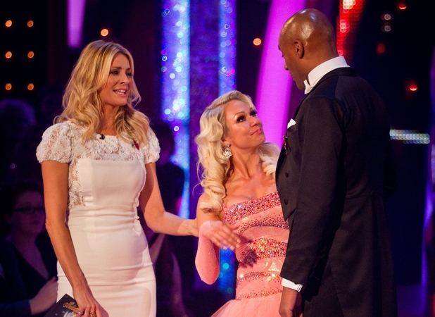 Colin Salmon and Richard Arnold find themselves in Strictly Come Dancing bottom two - 4 Nov 2012