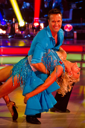 Michael Vaughan on Strictly Come Dancing week 7 live show, 10/11