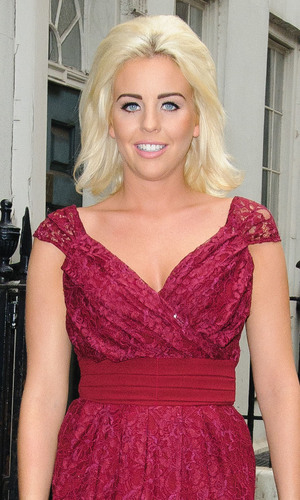 miss mode: Lydia Bright aka Lydia Rose Bright out and about before attending the launch party for her 'Limited Edition' fashion range London, England - 11.10.12 Mandatory Credit: WENN.com