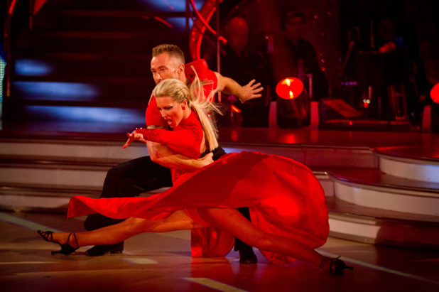 Denise Van Outen on Strictly Come Dancing week 7 show, 10/11