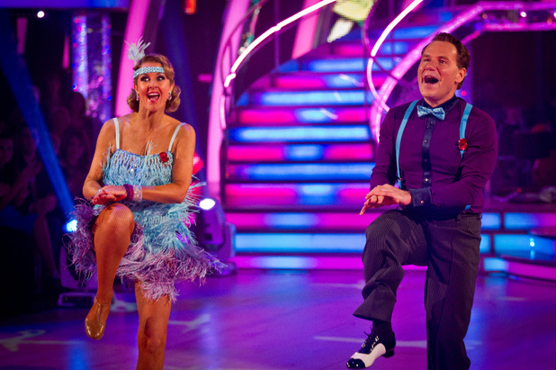 Richard Arnold on Strictly Come Dancing live show week 7, 10/11